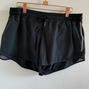 Lululemon Black Shorts with Reflective Sides   12